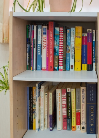 Sunrise Bookshelf 3